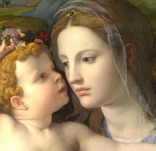 Happy Mother's Day!  Much love and many blessings to all mothers!  Mother Mary, pray for us.