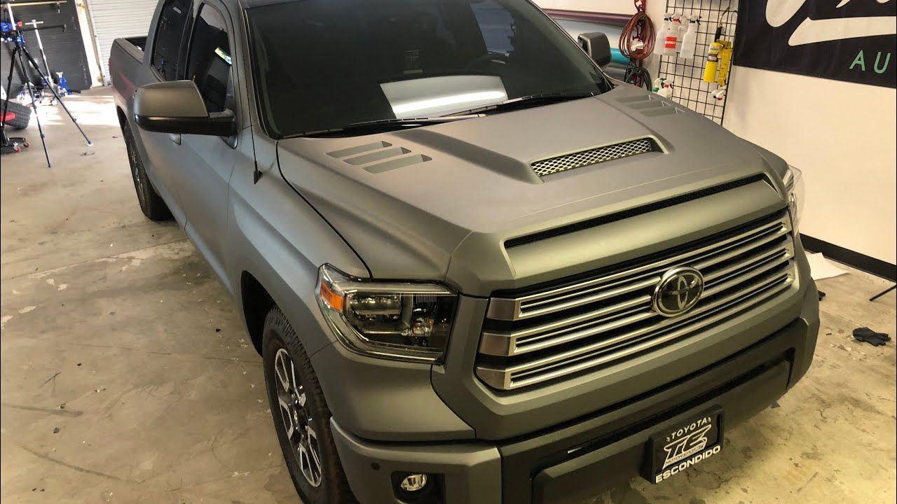 72b4d4b1243 HOW TO VINYL WRAP A TRUCK! 2018 Toyota TUNDRA. - YouTube