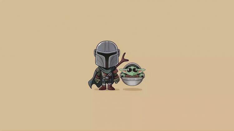 Baby Yoda And Mandalorian Live Wallpaper Wallpaperwaifu Yoda Wallpaper Live Wallpapers Cute Laptop Wallpaper
