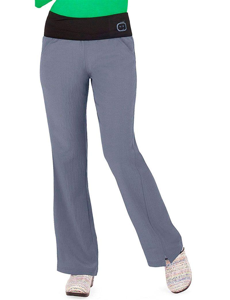 f63320db520 WonderWink Four-Stretch Fold Over Knit Waist Scrub Pant | Work ...