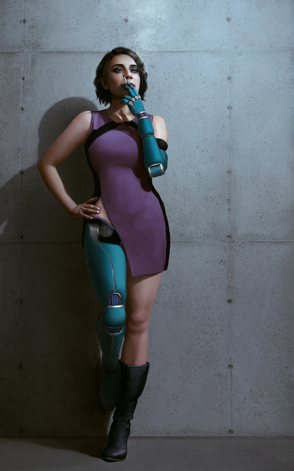 21+ Cyborg leg info