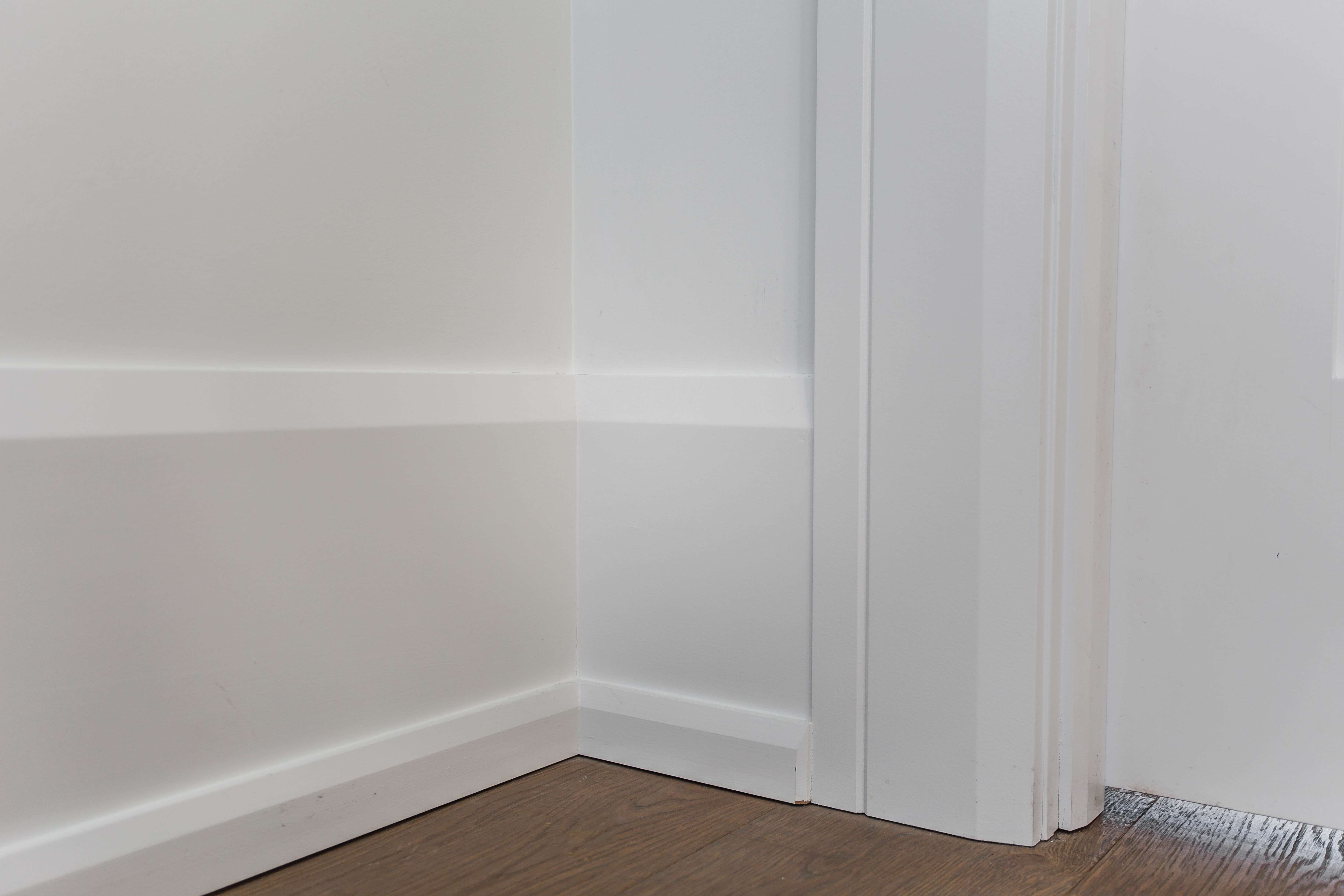Beveled Casing And Baseboard In 2020 Baseboard Styles Moldings And Trim Baseboard Trim