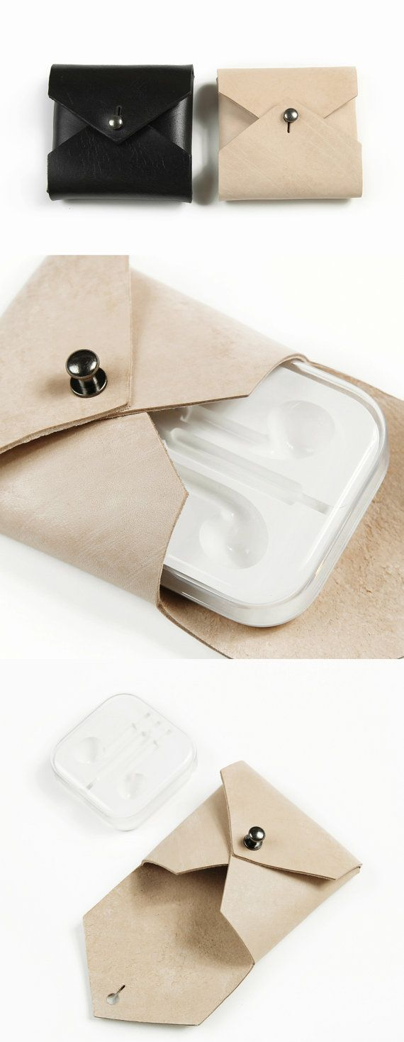 Mini Pouch Bag Coin Pouch Handmade Genuine Leather by MillionBag