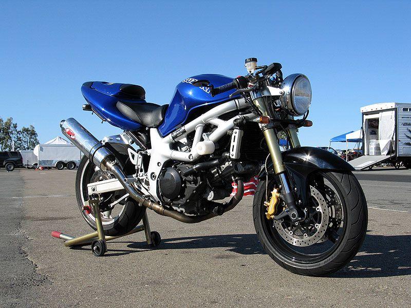 Sv 650 99 With Gsx R Forks Suzuki Motorcycle Cool Bikes Suzuki Sv 650