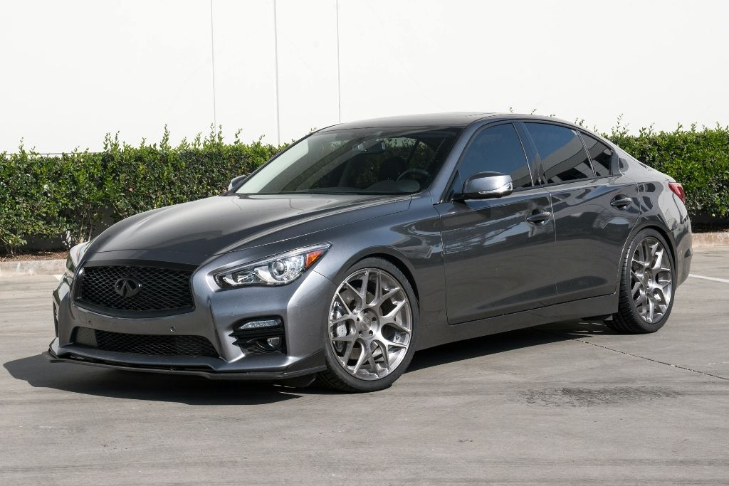 Photo 1 Infiniti Q50 Custom Wheels Ag M590 20x8 5 Et Tire Size 255 35 R20 X