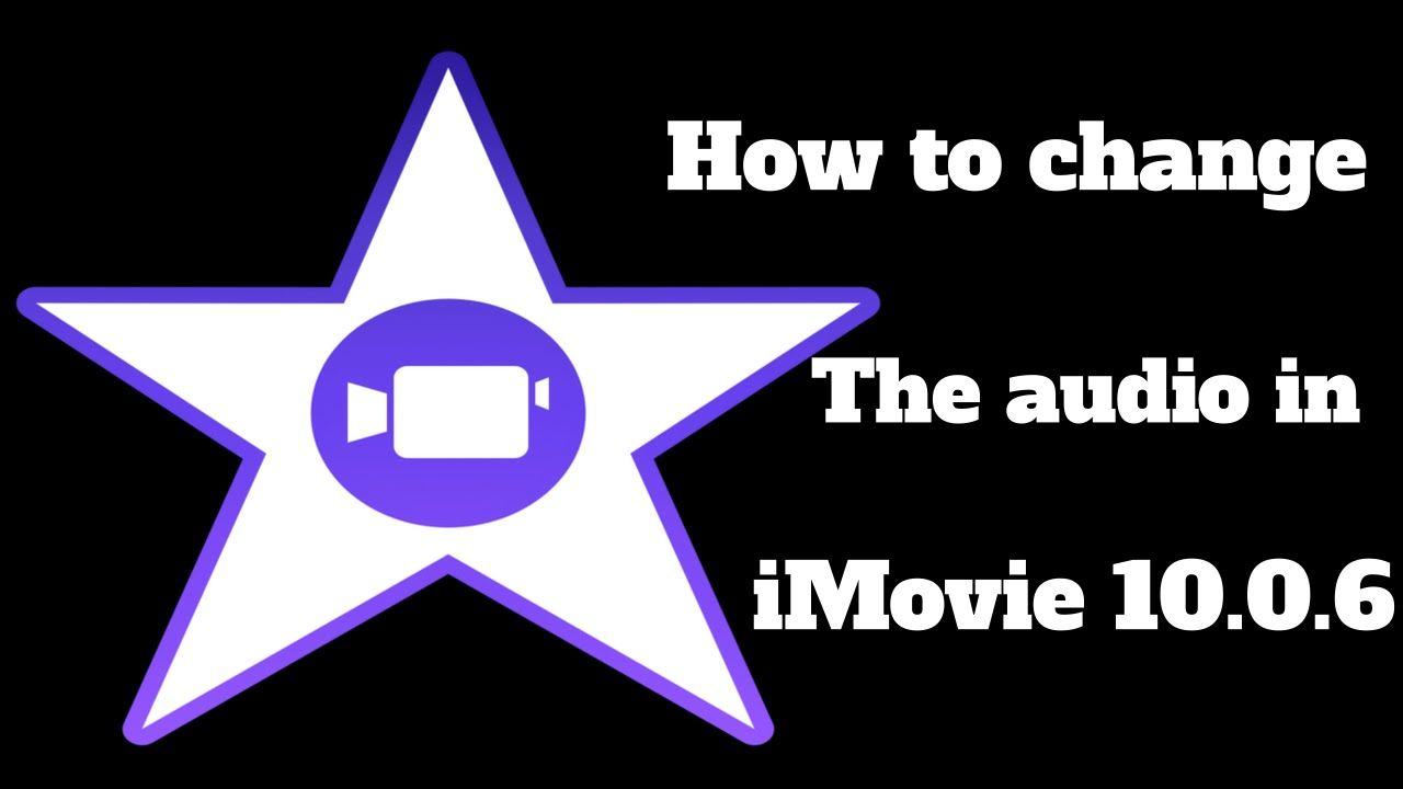 How to Changing the pitch of your voice in iMovie 10 0 6