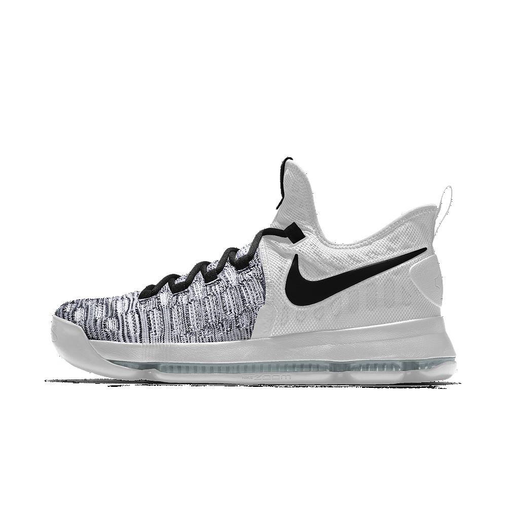 c1394c4521a4 Nike Zoom KD 9 iD Men s Basketball Shoe Size 11.5 (White)