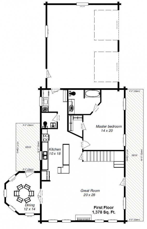 ennis 46 first floor Dream Home Pinterest – Ennis Homes Floor Plans