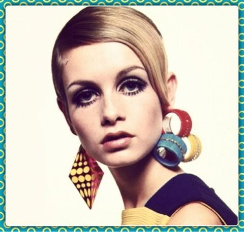 Color blocking '60s Style
