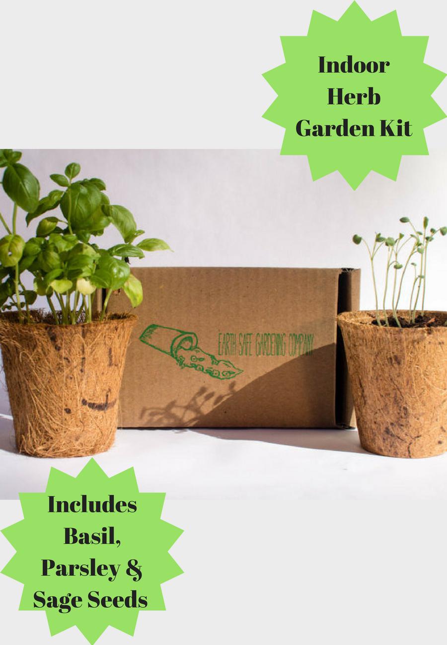Attractive Indoor Garden Kit Motif - Brown Nature Garden ...