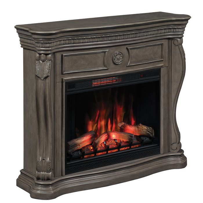 Gardiner Wall Mantel Electric Fireplace Electric Fireplace