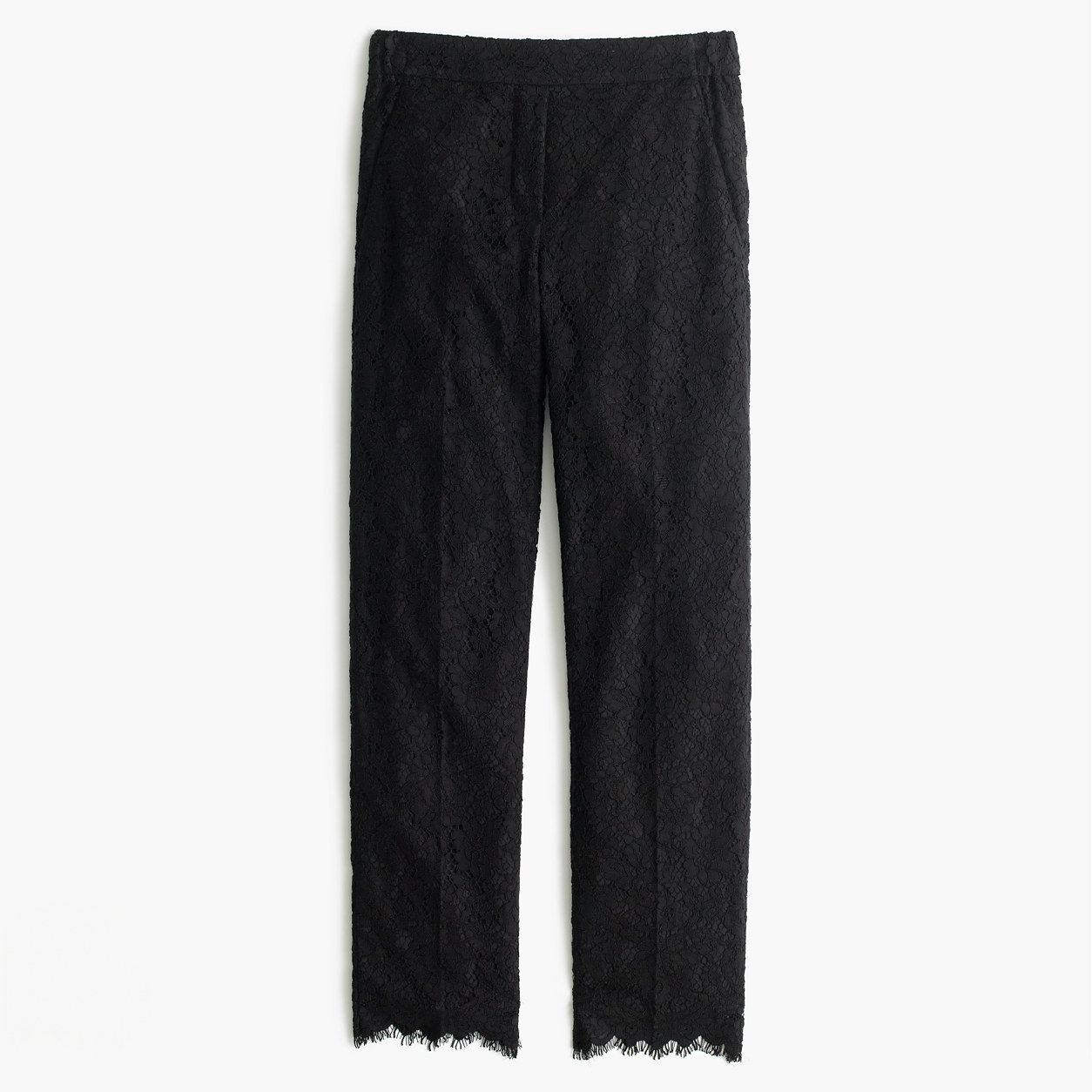 9716a2f1 J.Crew Womens Petite Easy Pant In Lace (Size 10 Petite)   Products ...