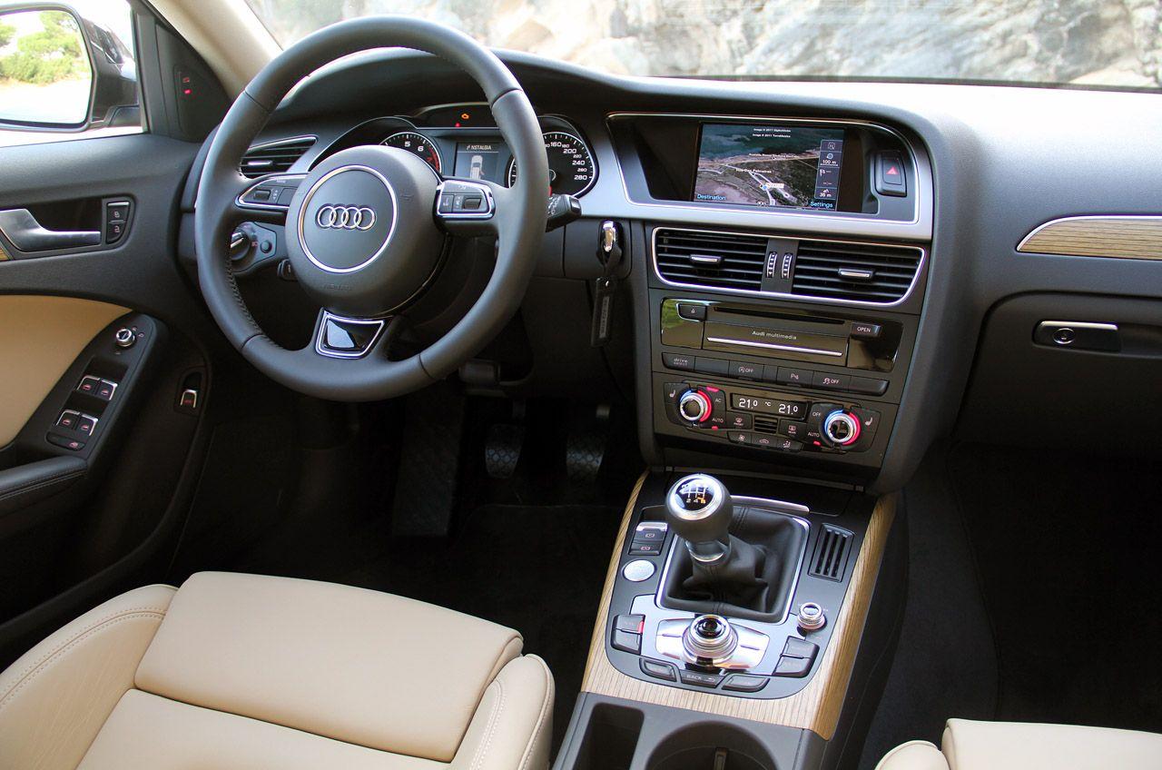 2012 Audi A4 Allroad Quattro Interior Wallpaper