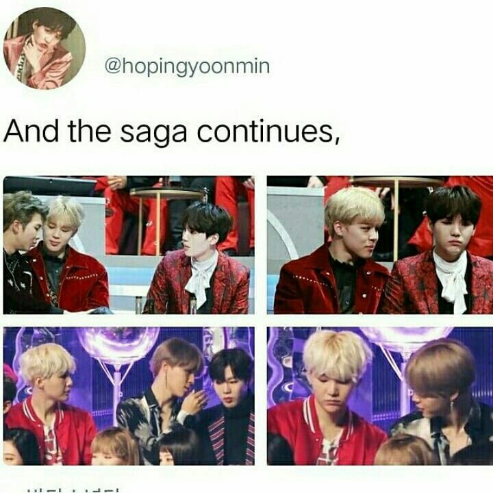Yoonmin is so cute, then Yoongi gets jealous and Jimin tries to