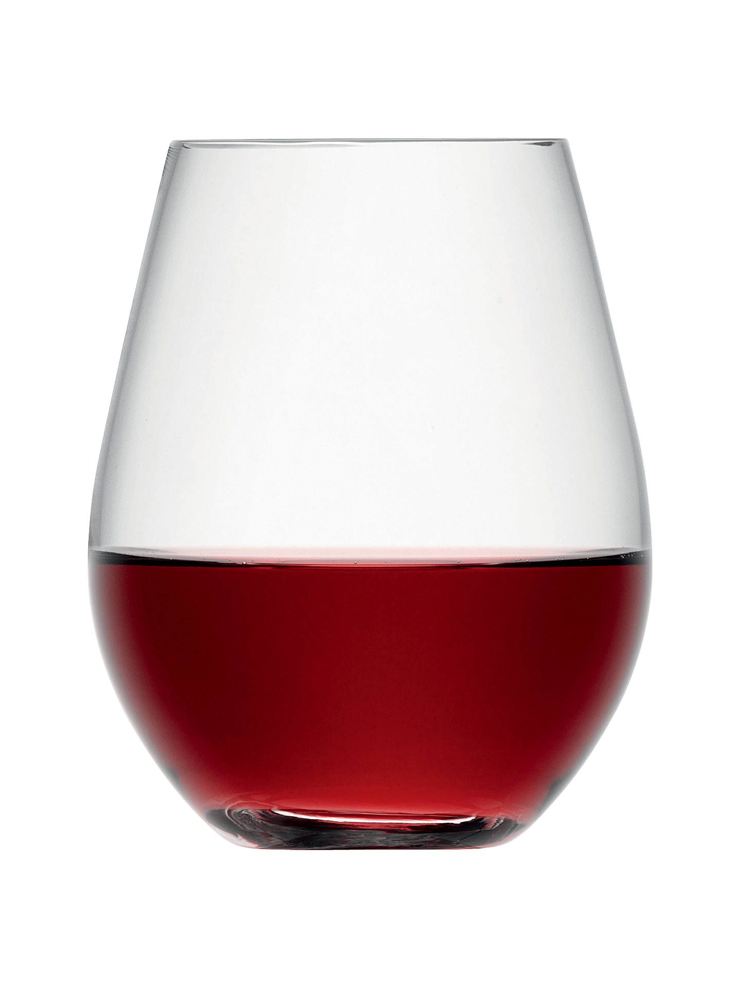 Lsa International Wine Collection Stemless Red Wine Glasses 530ml Set Of 4 In 2020 Wine Collection Red Wine Glasses Wine Glassware