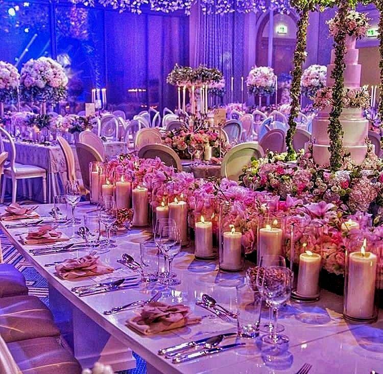 Wedding decor plans! Consider the portfolios of past work