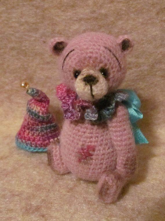 Miniature Thread Artist Crochet Teddy Bear PATTERN от BayouBears ...
