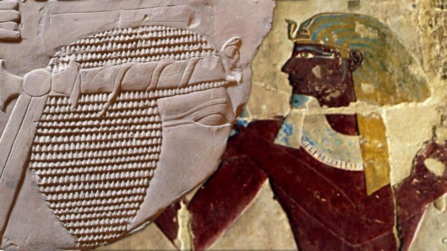 Mysterious ancient artwork depicting female pharaoh found by