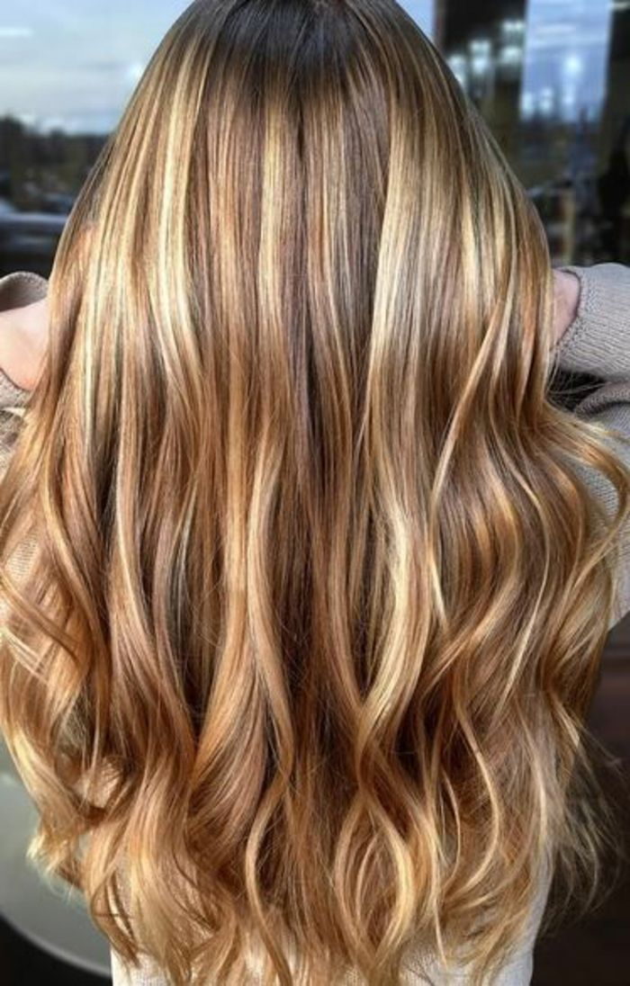 1001 variantes du balayage caramel pour sublimer votre coiffure photos hair balayage et. Black Bedroom Furniture Sets. Home Design Ideas