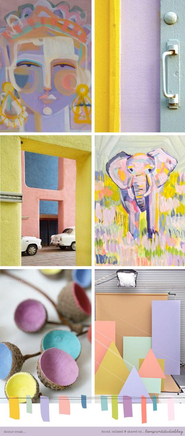 love print studio blog: Colour crush... | source | love print studio ...