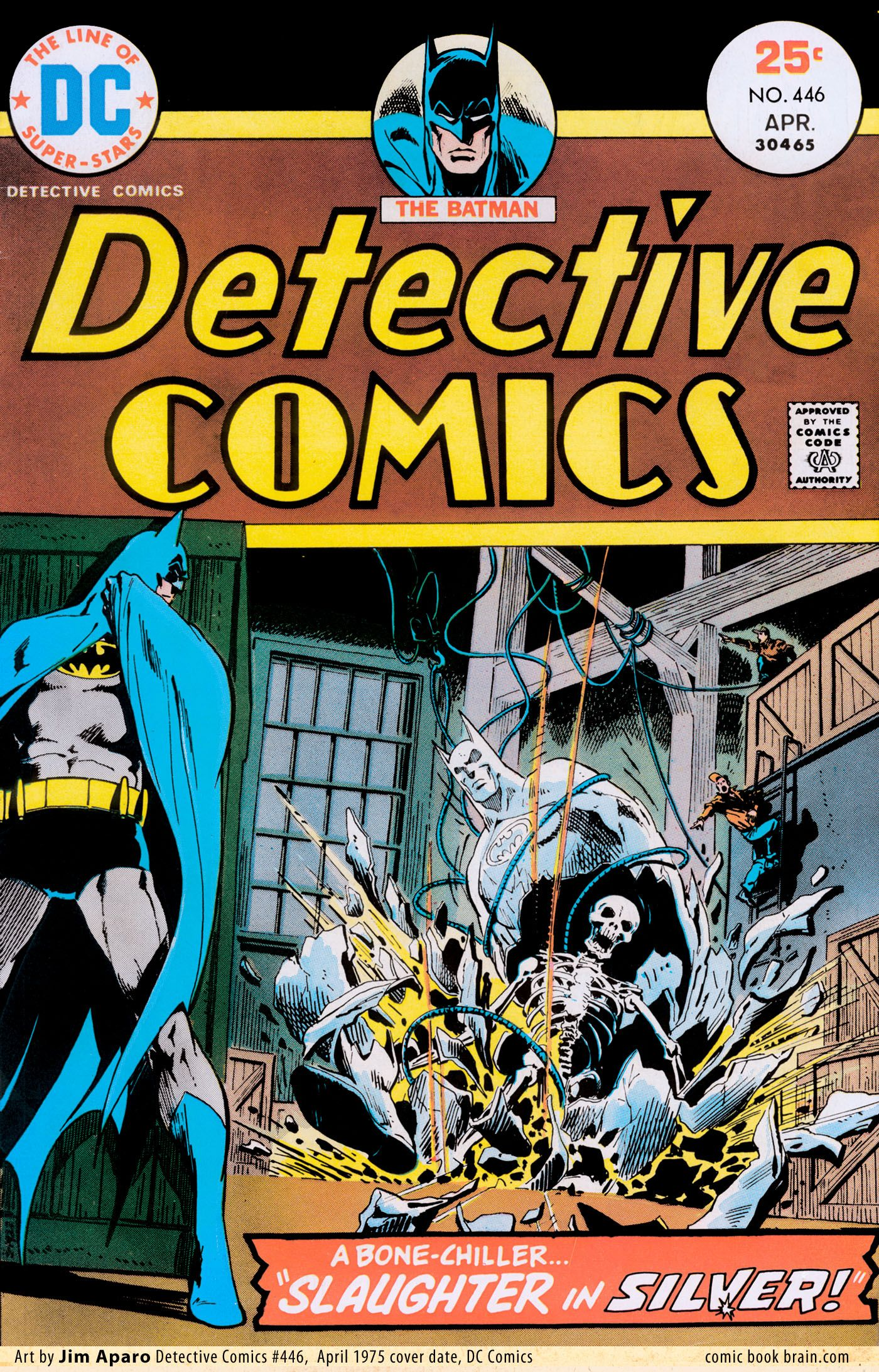 Roberts Auto Group >> Detective Comics 446 - Aparo (With images) | Batman comic cover, Comics, Batman comic books