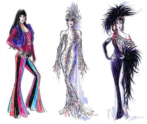 Beautiful Costume Design Bob Mackie Fashion Design Classes
