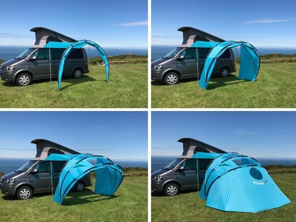 sheltaPod campervan awnings - SheltaPod | Campervan awnings