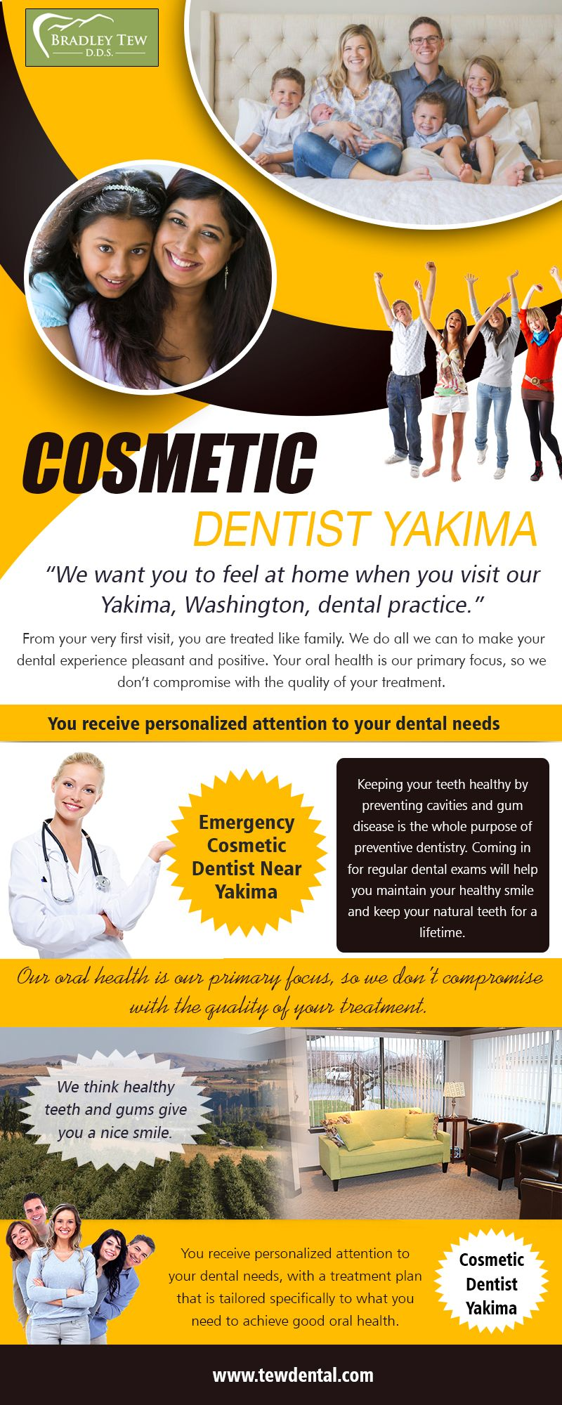 Cosmetic dentist in Yakima services to create a flawless