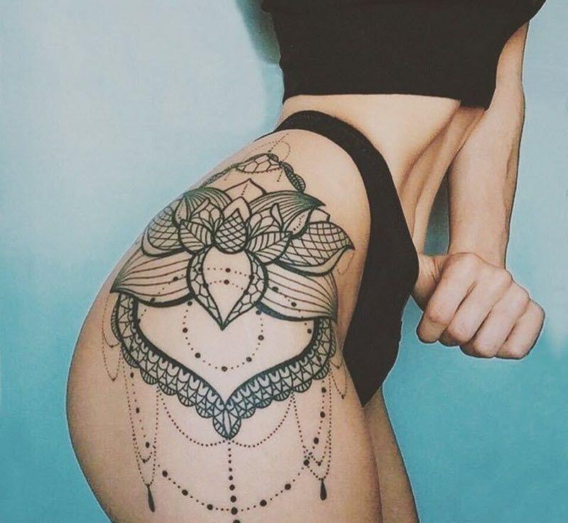 Татуировка с сексуальным смыслом