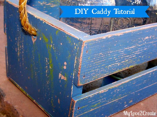 My Love 2 Create: DIY Caddy Tutorial another favorite submission @ DearCreatives.com