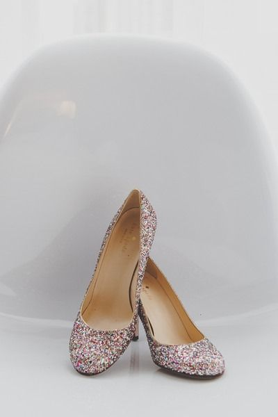 Glitter Wedding Shoes Colorful For Bride Hennygraphy