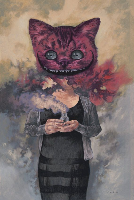 CHESHIRE CAT BY STEVEN RUSSELL BLACK