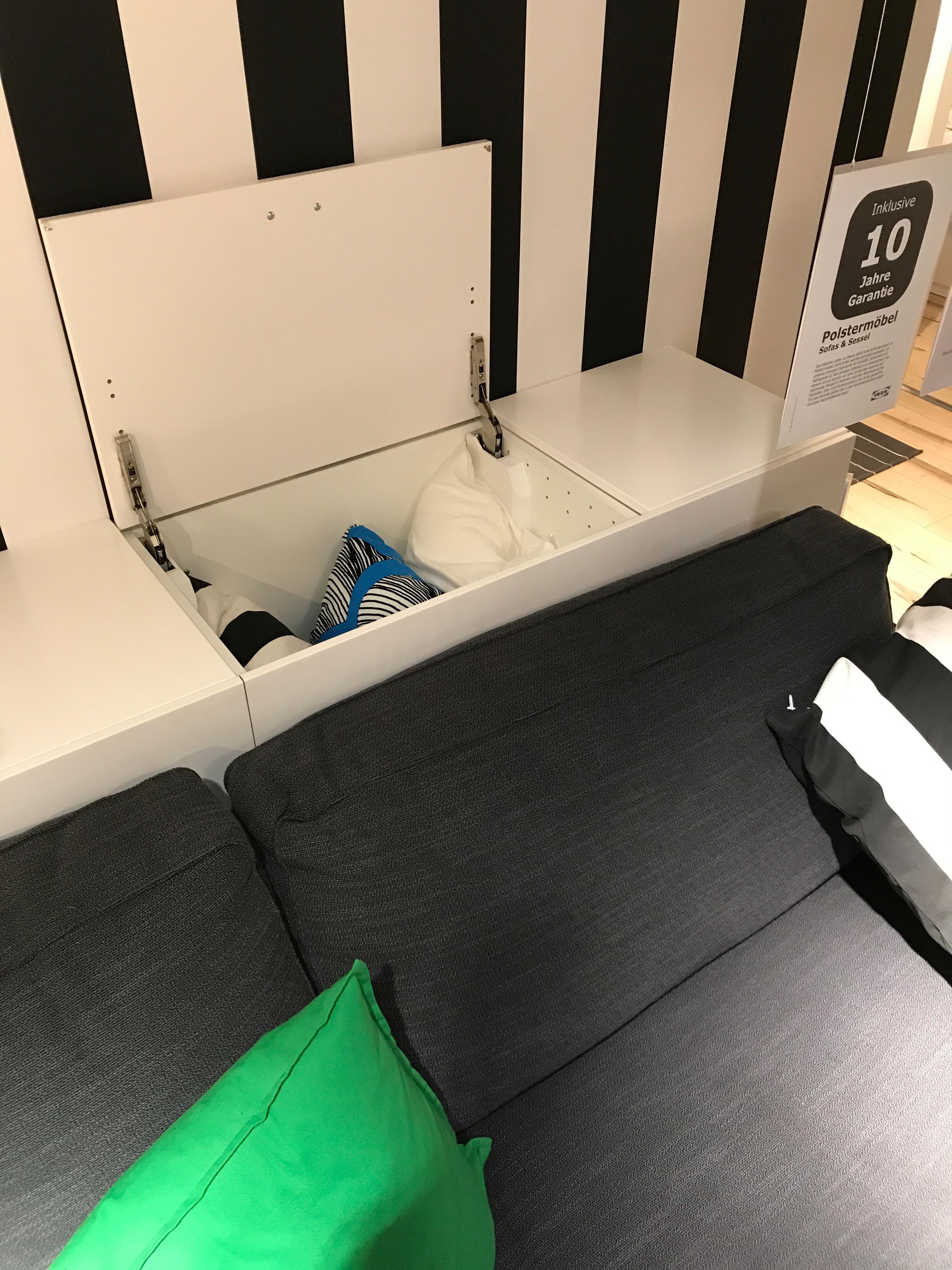 sofa mit stauraum ikea. Black Bedroom Furniture Sets. Home Design Ideas