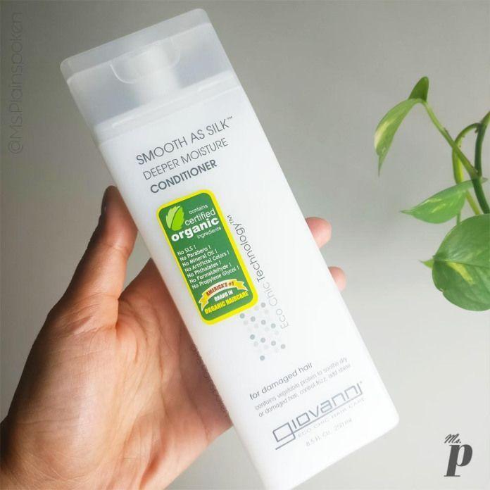 Giovanni: Smooth as Silk Deeper Moisture Conditioner | Review -  Giovanni _Smoot...#conditioner #deeper #giovanni #moisture #review #silk #smoot #smooth #organichaircare