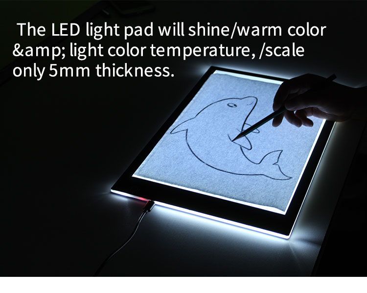 A4a3led Tracing Light Pad Light Box For Artists Drawing Sketchingnew A4 Ultra Thin Portable Led Light Box Tracer Portable Led Lights Portable Led Led Light Box