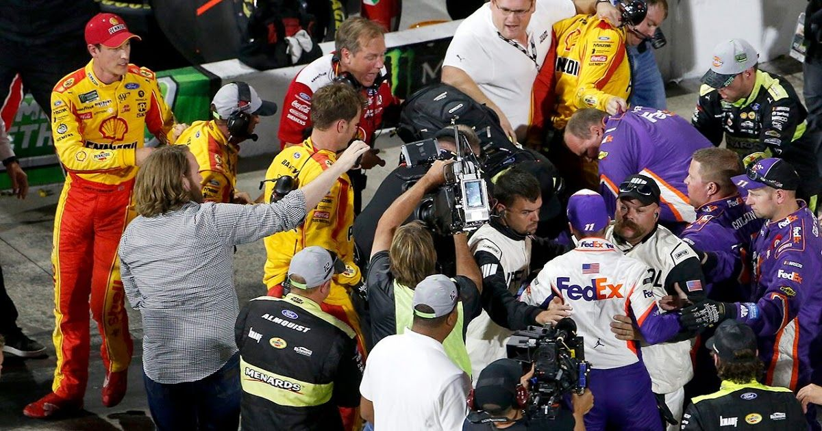 Joey Logano's crew member suspended for Texas NASCAR race