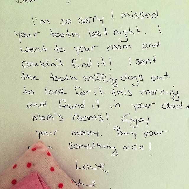 Hilarious (and Genius) Apology Notes From the Tooth Fairy Tooth - sample apology letter for being late