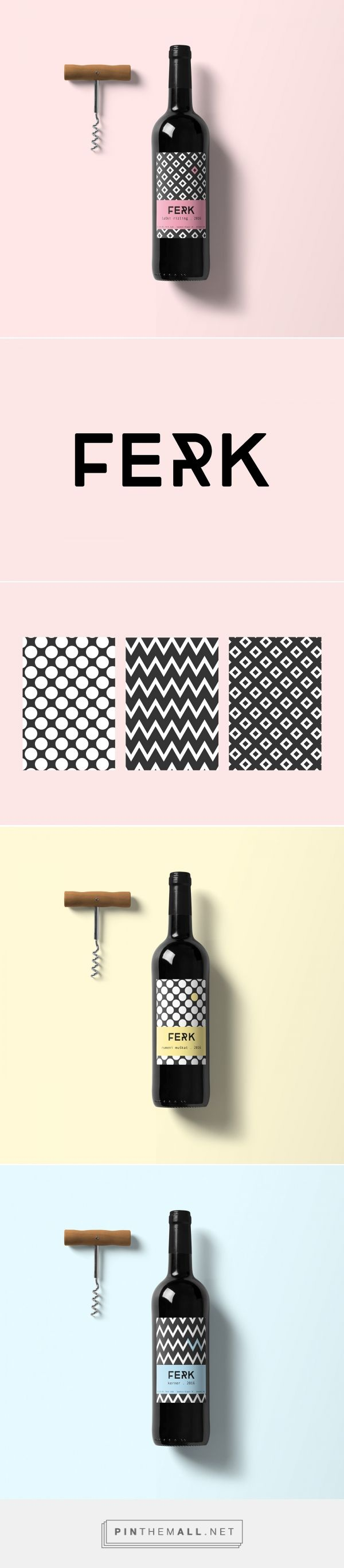 Ferk Wine Packaging by Claudia Kvar   Fivestar Branding Agency – Design and Branding Agency & Curated Inspiration Gallery
