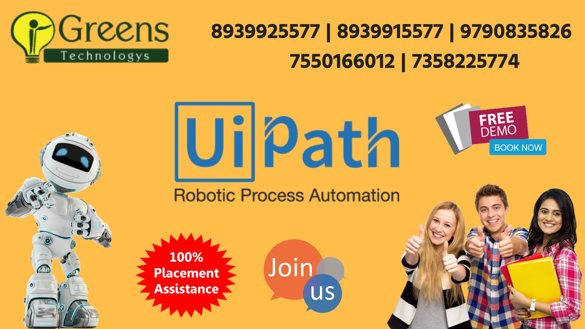 UiPath Training in Chennai | UiPath | Chennai, Classroom training