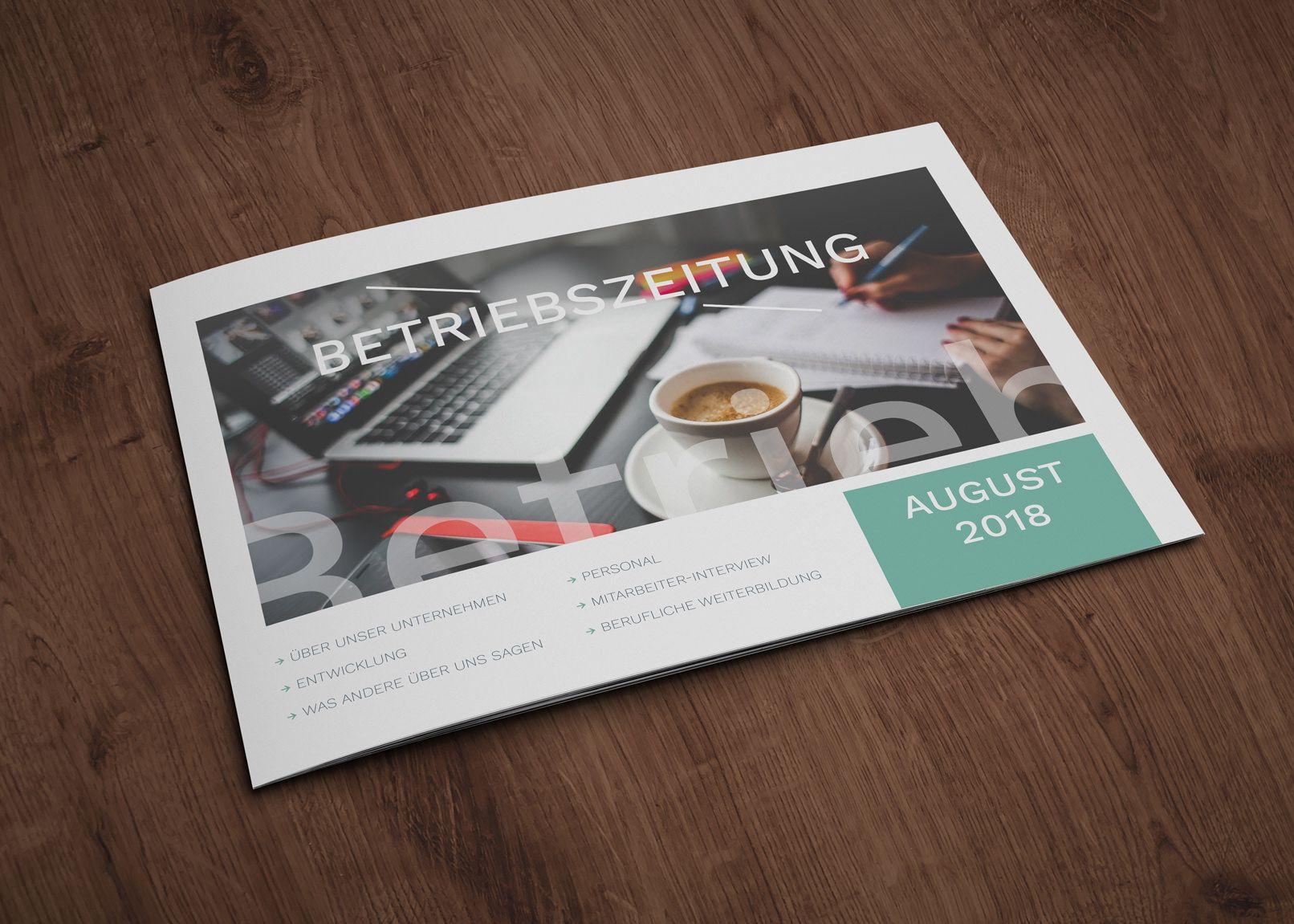 Layout-Vorlagen: Mitarbeiterzeitung, Betriebszeitung | Pinterest ...
