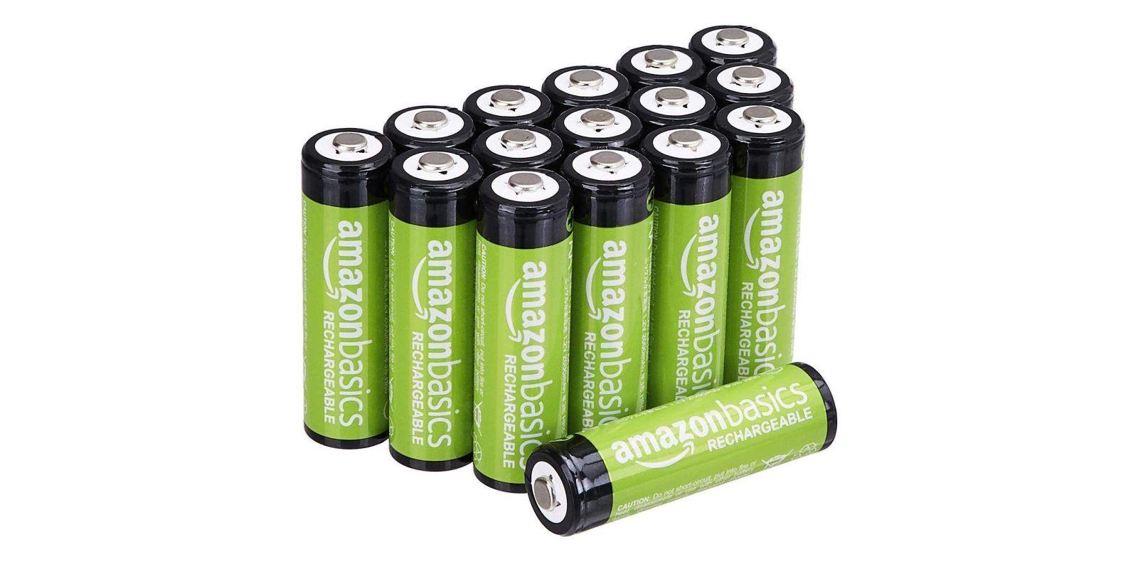 Amazonbasics Aa And Aaa Rechargeable Battery Deals Start At 111 Rechargeable Batteries Charge Battery Recharge