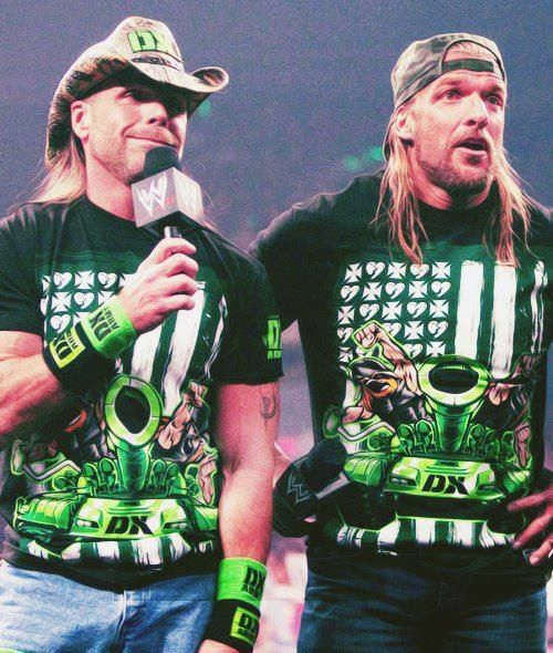 Dx Wallpaper: DX (aka D-Generation X) -- Shawn Michaels And Triple H