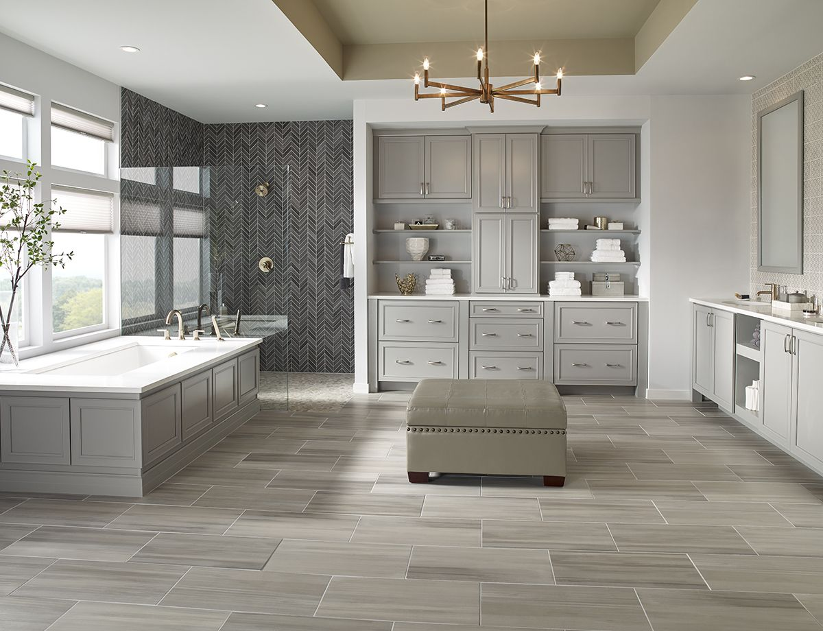 Premier Decor Tile By Msi Soothing Tones In A Contemporary Design Grigio Porcelain Tiles