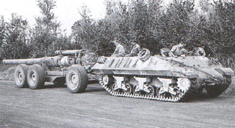 M35 Prime Mover long tom