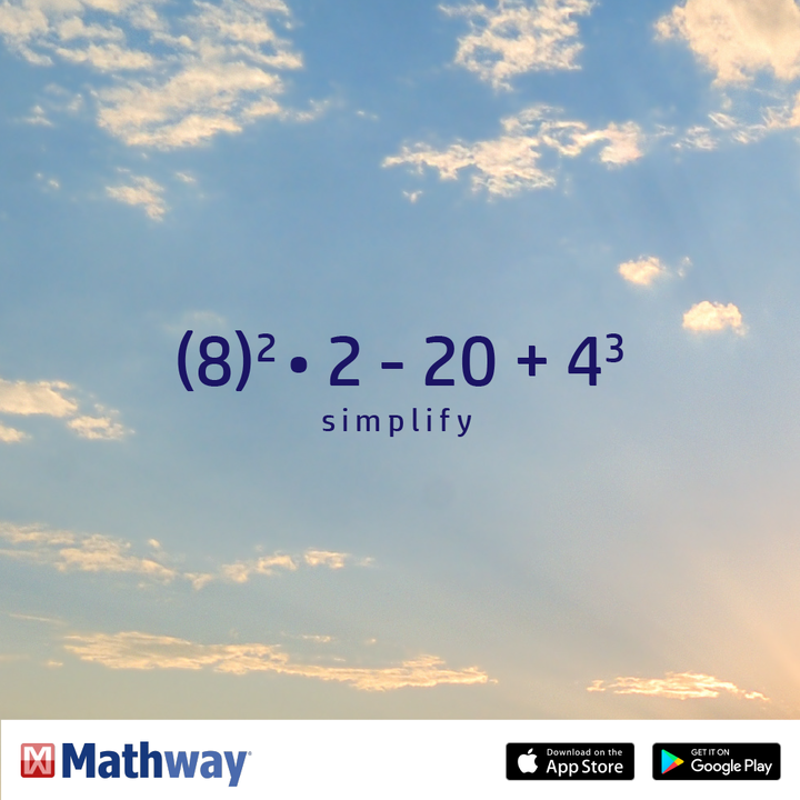Can you simplify this math problem? Check out our website to see the ...