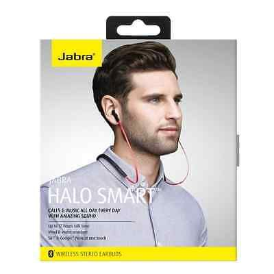 Jabra Halo Smart Red InEar Bluetooth Wireless Stereo Headset Headphones Retail https://t.co/c1I2EGSdwq https://t.co/6SzmHddN85