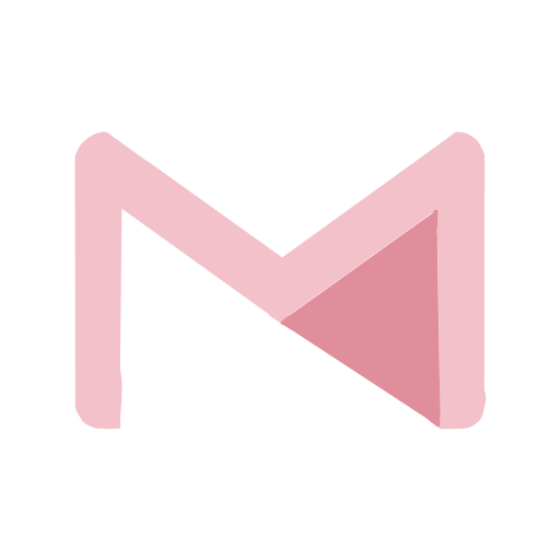 Pink Gmail Icon Iphone Wallpaper App Iphone App Design Ios Icon