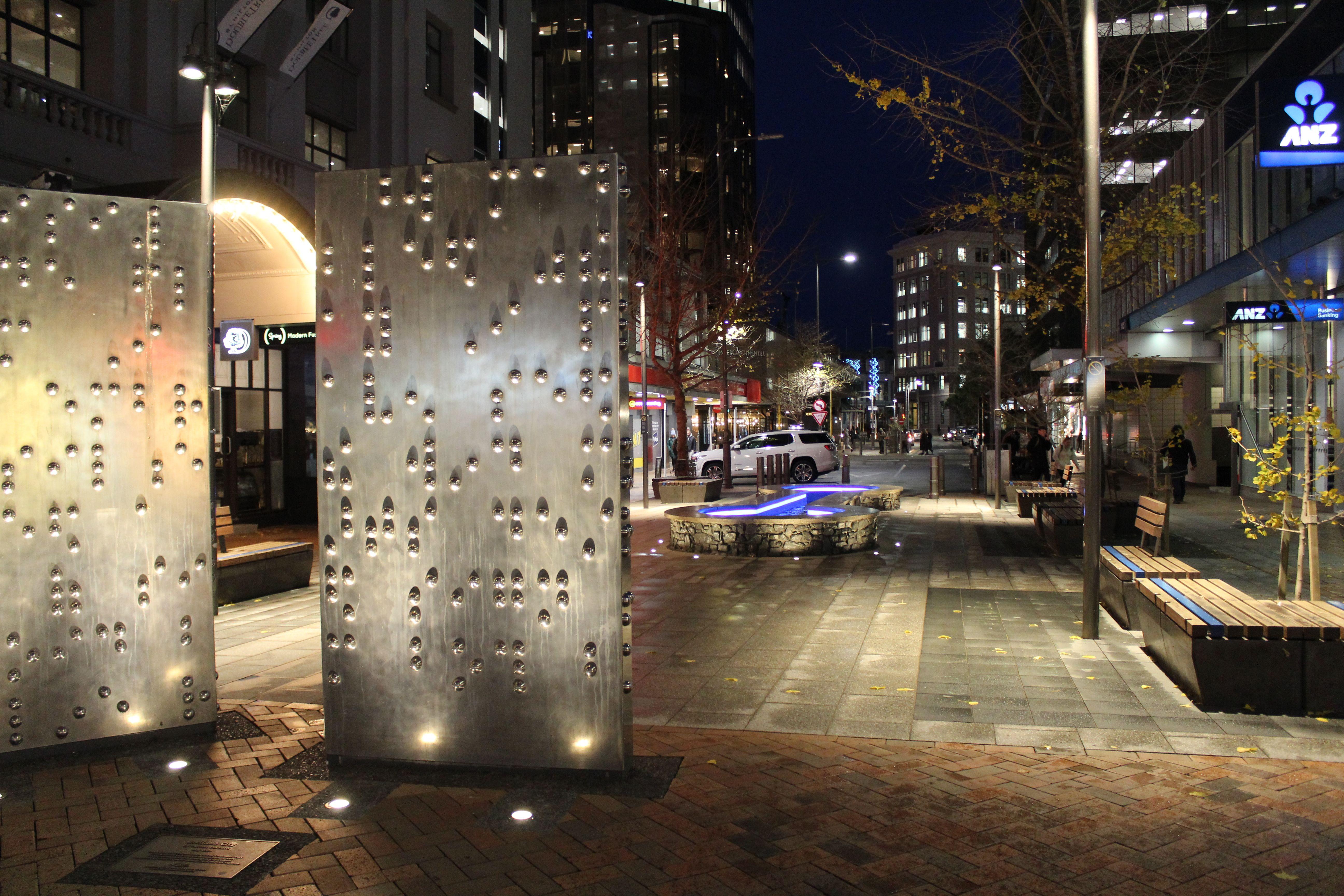 #lighting #STlighting #urban #lightingdesign #wellington #NZ #iguzzini