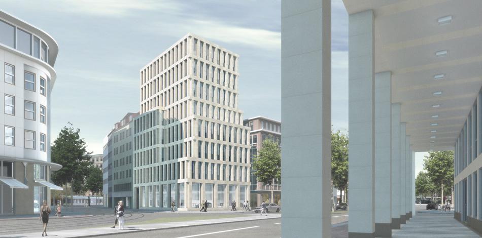 Bremen Architekt max dudler architekt stadthaus bahnhofsstrasse bremen elevations