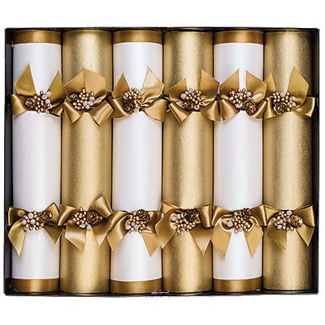 Buy celebration christmas crackers pack of 6 gold online at shop for christmas crackers online from our christmas shop whether you want to make your own or buy a celebration box of crackers we offer free delivery solutioingenieria Choice Image